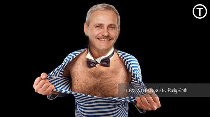 Liderul PSD Liviu Dragnea stripper