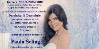 Concert Colinde Torino - Paula Seling