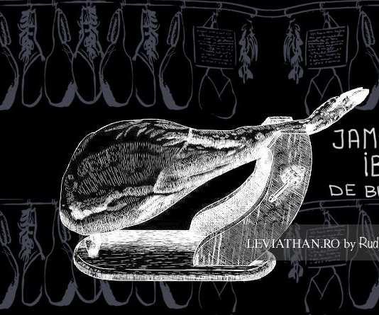 Jamon Iberico de Belota dibujo sketch