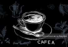 Ceașcă de cafea schiță desen