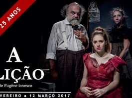 Lectia - A Licao Eugene Ionescu Lisboa Lisabona Teatro Meridional