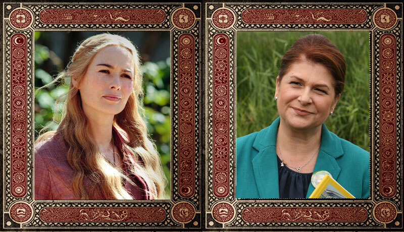 Cersei Lannister Rovana Plumb Game of Thrones Politicieni Romani
