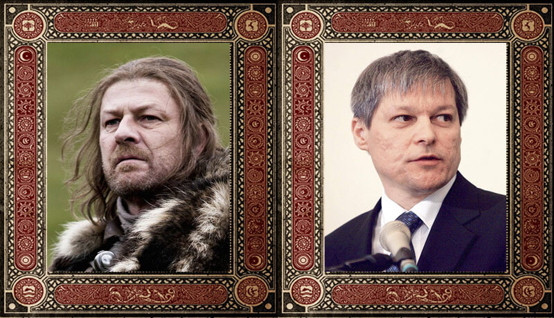 Eddad Ned Stark Dacian Ciolos Game of Thrones Politicieni Romani