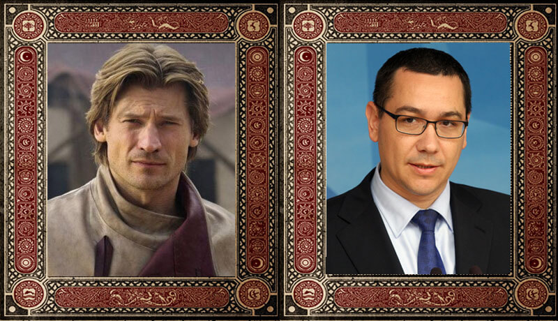Jaime Lannister Victor Ponta Game of Thrones Politicieni Romani