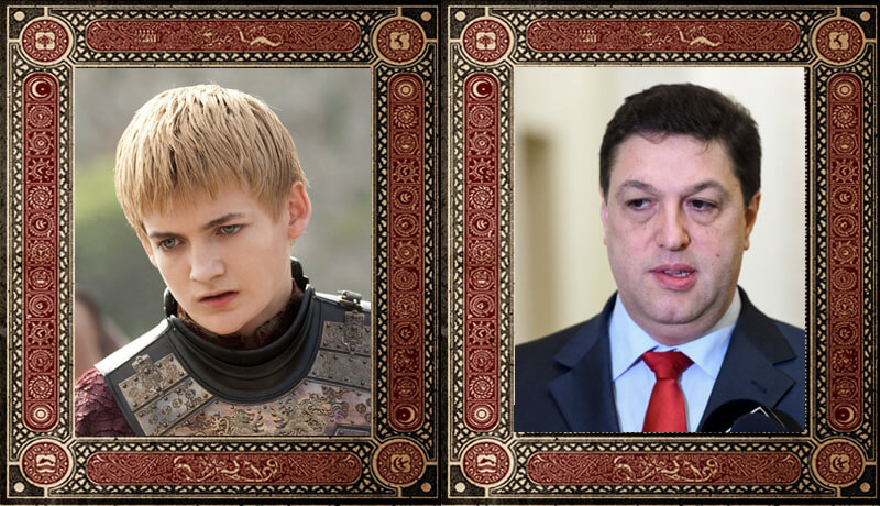 Joffrey Baratheon Șerban Nicolae Game of Thrones Politicieni Romani