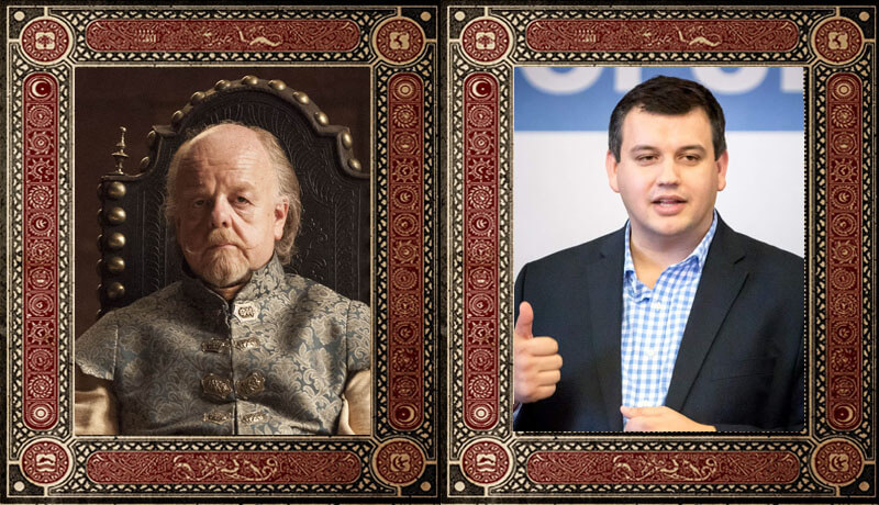 Mace Tyrell Eugen Tomac Game of Thrones Politicieni Romani