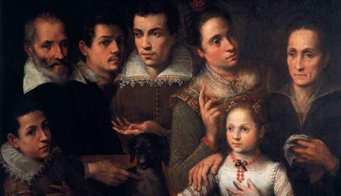 Portrait de famille Lavinia Fontana