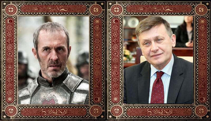 Stannis Baratheon Crin Antonescu Game of Thrones Politicieni Romani