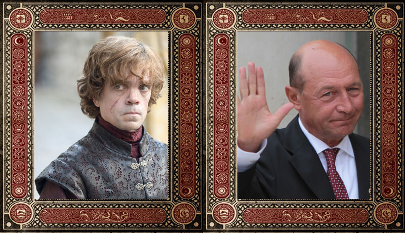 Tyrion Lannister Traian Basescu Game of Thrones Politicieni Romani