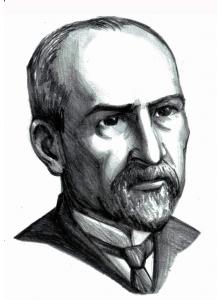 George Coșbuc - desen