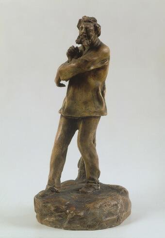 Camille Claudel Sculptorul Rodin pictând