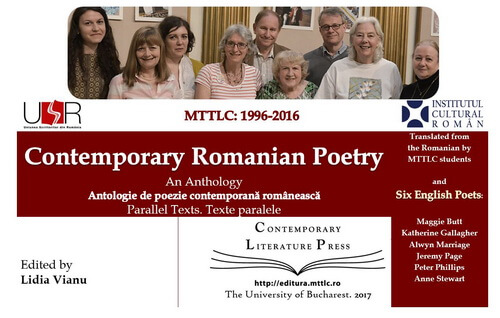 Cover anthology contemporary romanian poetry