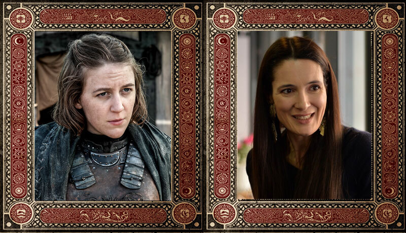 Yara Greyjoy Clotilde Armand Game of Thrones Politicieni Romani