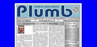 revista revistelor culturale plumb bacau
