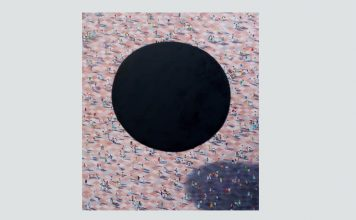 © Roman Tolici Dark Matter Over Lloret, 2016, ulei pe pânză