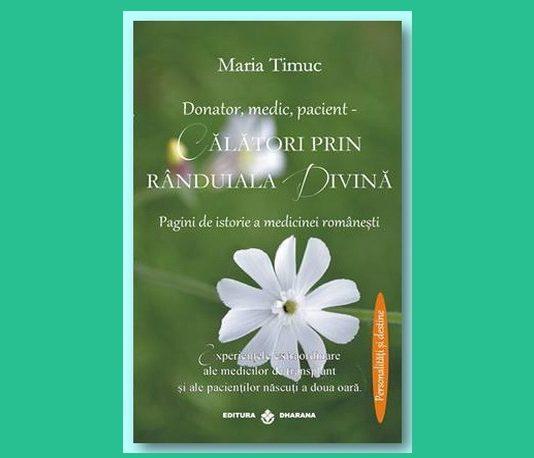 Maria Timuc Donator medic pacient