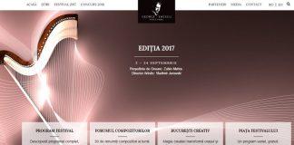 Noul Site al Festivalului Enescu