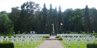 Soultzmatt Alsacia Cimitirul romanesc