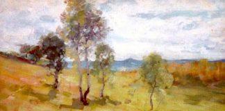 peisaj de primavara nicolae grigorescu