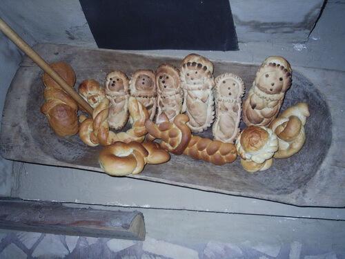 Bebeluşii din pâine muzeul agriculturii slobozia
