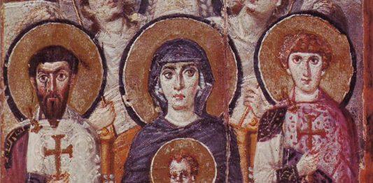 Fecioara Maria si pruncul iconografie-2