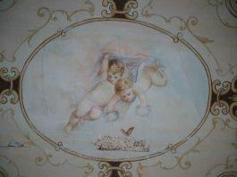 Frescă din Palatul Pleșa