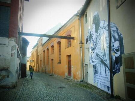 Hradební ulici (Strada artelor), Český Krumlov