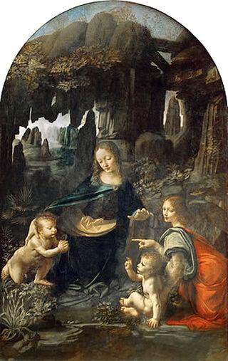 Leonardo_Da_Vinci_-_Vergine_delle_Rocce_(Louvre)1483-1486