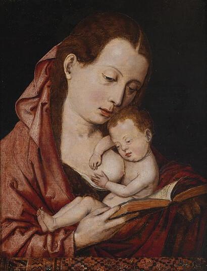 -Madonna_lactans_Flemish_16th_century