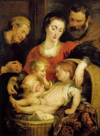 Rubens,_ Madonna della Cesta
