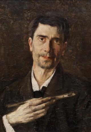 "Ștefan Luchian, ""Un zugrav"" (autoportret), 1907"