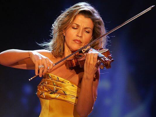 Anne-Sophie Mutter. Foto AP