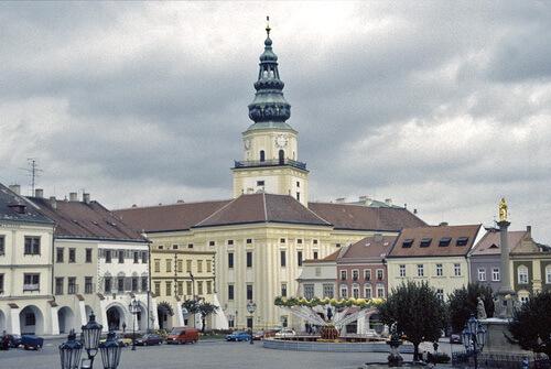 Palatul arhiepiscopal din Kroměříž