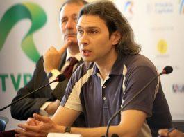 Vladimir Jurowski la conferința de presă. Foto Cătălina Filip
