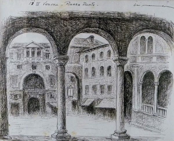 Verona, Piazza Dante