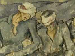 Atelier de front. Artişti români în Marele Război