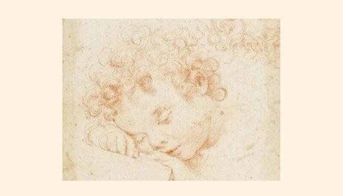 """Carlo Dolci (25 mai 1616–17 ianuarie 1686), """"Cap de copil"""""""