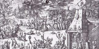 Dansul vrăjitoarelor in Trier (Foileton, 1594)