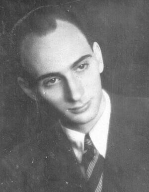 Dinu Pillat în 1942
