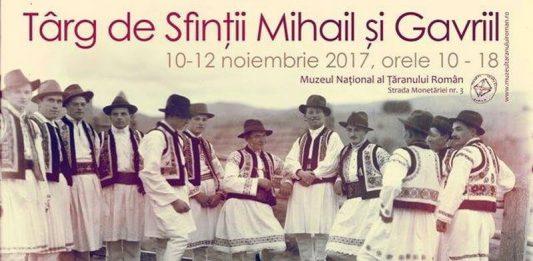 Mihail si Gavril Targul de la Muzeul Țăranului Rimân