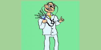 Caricatură de Lică Barbu