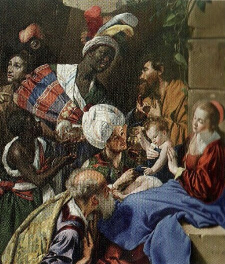 Juan Bautista Maíno Adoración de los Reyes, 1611-1613