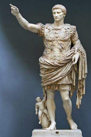Împăratul Octavianus Augustus