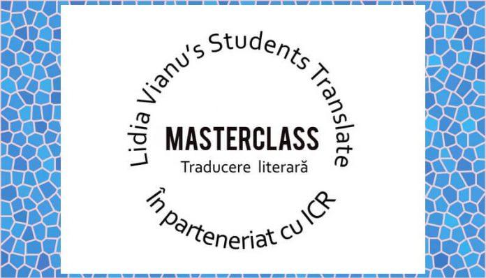 masterclass traducere literara