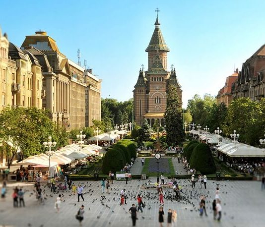 Timișoara. Foto © Livia Mateiaș