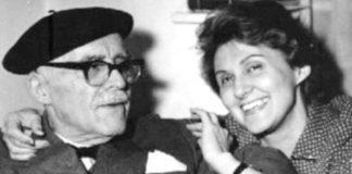 Daniela Șontică Mitzura și Tudor Arghezi Foto ziartricolorul.ro