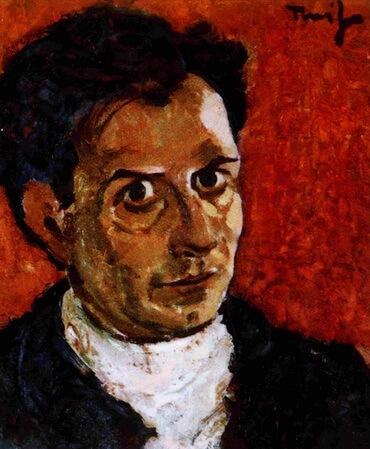 """Nicolae Tonitza, """"Autoportret"""", cca 1923"""