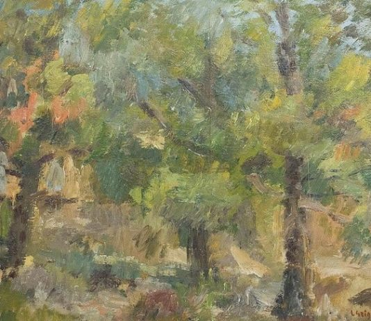 "Lucian Grigorescu, ""Peisaj"""