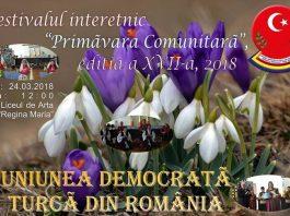 primavara comunitara uninunea democrata turca din romania