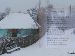 Letitia Vladislav Hora Unirii iarna sat